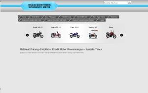 Aplikasi kredit motor berbasis web php mysql