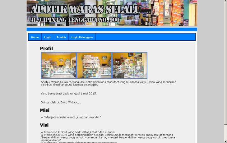 software apotik berbasis web